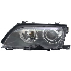 BMW 3 serie hatchback Touring E46 2001-2005 D2S / H7 XENON koplamp zwart LINKS TYC