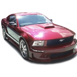 Ford Mustang 2005-2009 helder glas ANGEL EYES projector koplamp chroom