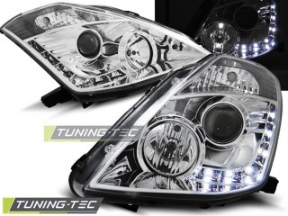 Koplamp set Nissan 350 Z 03-05 Daylight Chroom