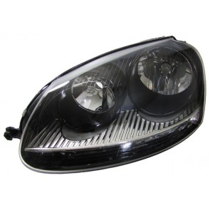 Golf 5 + Jetta 3 H7 H7 GTI koplamp zwart LINKS