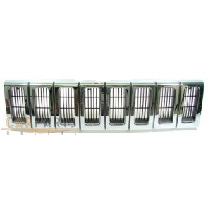 Grill chroom voor Jeep Grand Cherokee 93-95