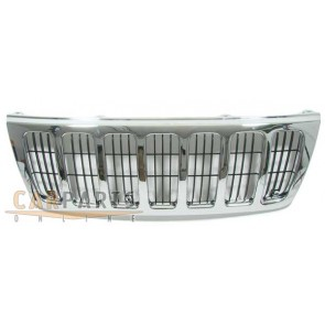 Grill chroom voor Jeep Grand Cherokee 99-03
