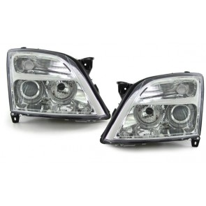 Opel Vectra C + Signum helder glas ANGEL EYES H7 H7 koplamp chroom