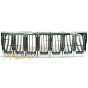 Grill chroom voor Jeep Grand Cherokee 96-98