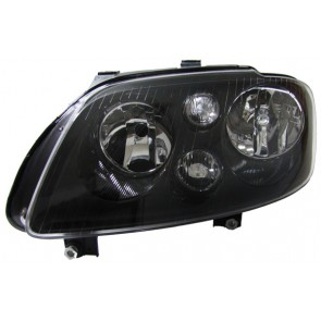 Volkswagen Touran 2003-2006 + Caddy 2004-2010 H7 H7 koplamp zwart LINKS