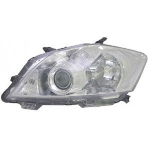 TOYOTA Auris E15 2010-heden H11 / HB3 koplamp chroom LINKS TYC