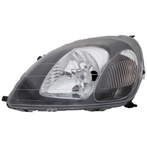 TOYOTA Yaris 1999-2003 H4 koplamp zwart LINKS TYC