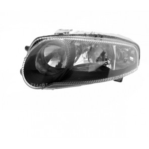ALFA 147 GTA 2000-2005 H1 / H7 / H7 koplamp zwart LINKS TYC