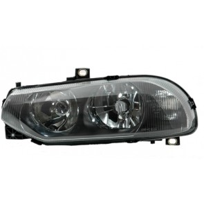 ALFA 156 GTA 1997-2003 H1 / H7 koplamp zwart LINKS TYC