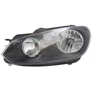 Volkswagen Golf VI 2008-heden H7 / H15 koplamp LINKS TYC