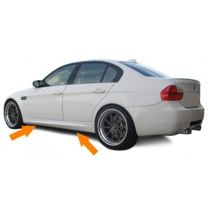 Side skirts voor 3 Er Bmw E90 Sedan E91 Touring 05 12 Seitenschweller M3 Sport Optisch