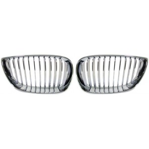 Grill chroom voor 1 serie BMW E87 04-07