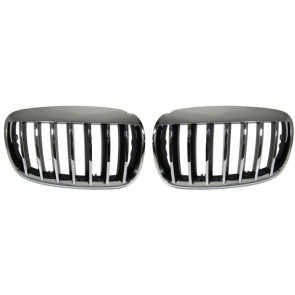 Grill chroom voor BMW X5 E70 07