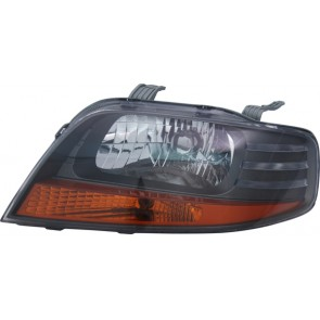 CHEVROLET Kalos 2005-heden H4 koplamp zwart LINKS TYC