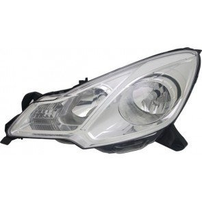 CITROEN C3 2009-2013 H1 / H7 koplamp wit iris LINKS TYC