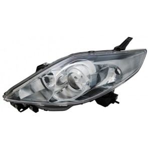 MAZDA 5 CR19 2005-2008 H7 / HB3 koplamp zwart LINKS TYC