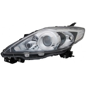 MAZDA 5 CR19 2008-heden H7 / HB3 koplamp zwart LINKS TYC