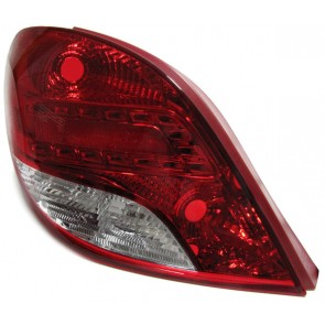 Peugeot 207 2009-heden FACELIFT LED achterlicht LINKS