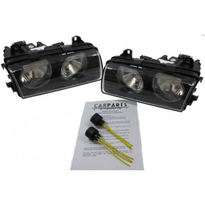 BMW E36 Compact H7 H7 koplamp SET + ADAPTER