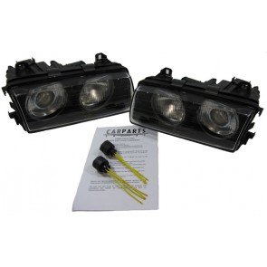 BMW E36 Compact H1 H1 koplamp SET + ADAPTER