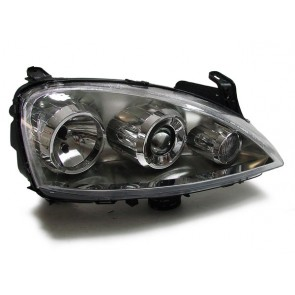 Corsa C 2003-2006 projector ELLIPSOID koplamp RECHTS
