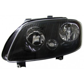 Volkswagen Touran 2003-2006 + Caddy 2004-2010 H7 H1 koplamp zwart LINKS