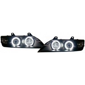 BMW Z3 1996-2002 CCFL ANGEL EYES koplamp zwart