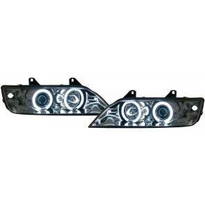 BMW Z3 1996-2002 CCFL ANGEL EYES koplamp chroom