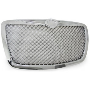 Grill chroom voor Chrysler 300C 04-11 IM BENTLEY