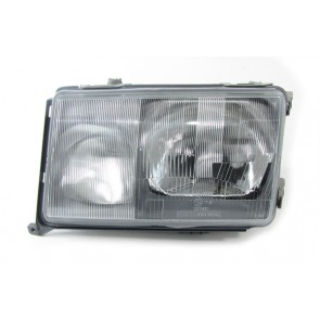 Mercedes W124 1985-1989 koplamp H4 H3 LINKS