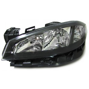 Renault Laguna 2005-2007 koplamp H1/H7 zwart LINKS