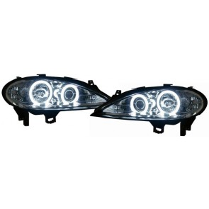 Megane 1999-2002 CCFL ANGEL EYES koplamp chroom
