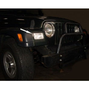 Jeep Wrangler TJ 1997-2004 KNIPPERLICHT set WIT