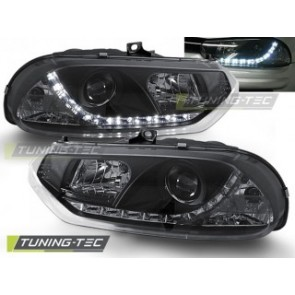 Koplamp set Alfa Romeo 156 10.97-06.03 Daylight Zwart