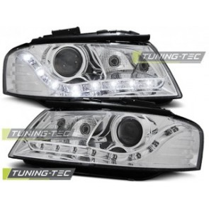 Koplamp set Audi A3 8 P 05.03-03.08 Daylight Chroom