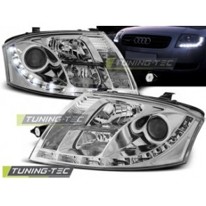 Koplamp set Audi Tt 99-06 Daylight Chroom
