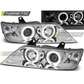 Koplamp set Bmw Z3 01.96-02 Angel Eyes Chroom