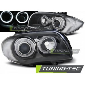 Koplamp set Bmw 1 E87/E81 04-07 Grey