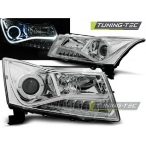Koplamp set Chevrolet Cruze 09-12 Daylight Chroom