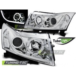 Koplamp set Chevrolet Cruze 09-12 Tube Light Chroom