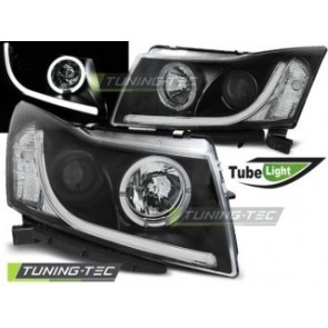 Koplamp set Chevrolet Cruze 09-12 Tube Light Zwart