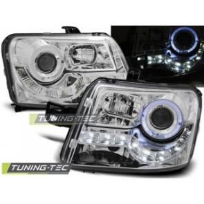 Koplamp set Fiat Panda 03- Daylight Chroom