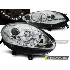 Koplamp set Fiat Bravo 2 07- Daylight Chroom