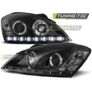 Koplamp set Kia Ceed 09.06-08.09 Daylight Zwart