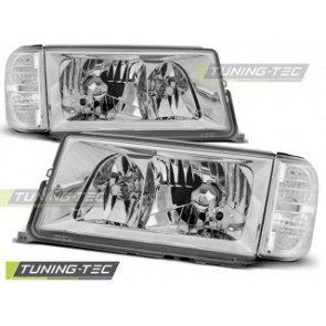 Koplamp set Mercedes W201/190 12.82-05.93 Chroom