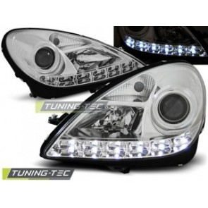 Koplamp set Mercedes R171 Slk 04-11 Daylight Chroom