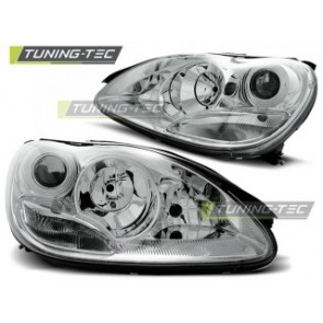 Koplamp set Mercedes W220 S- Klasse 09.98-05.05 Chroom