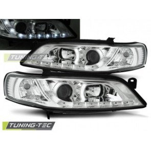 Koplamp set Opel Vectra B 11.96-12.98 Daylight Chroom