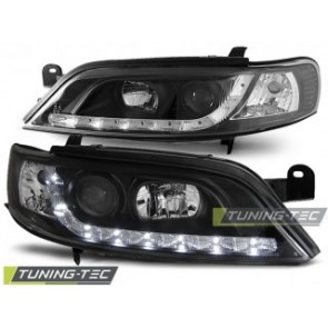 Koplamp set Opel Vectra B 11.95-12.98 Daylight Zwart