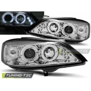 Koplamp set Opel Astra G 02.98-02.04 Angel Eyes Chroom